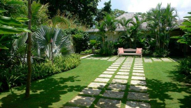Modern Style Landscaping Famous Its Streamlined