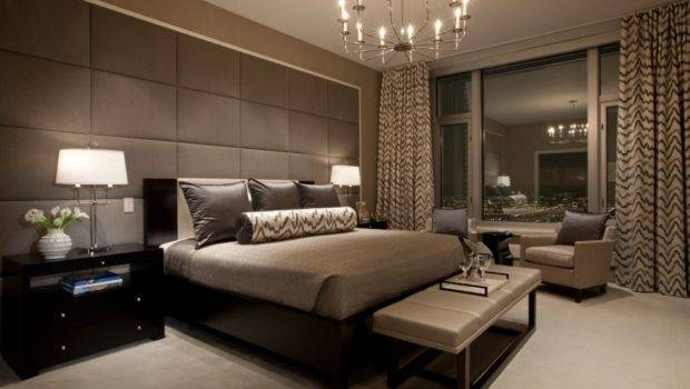 Modern Style Master Bedroom Ceiling Decoration Effect Chart