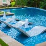 Modern Swimming Pool Fence Jerith Jefferson Black