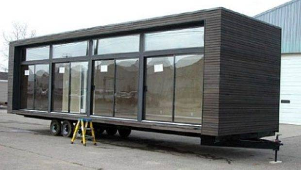 Modern Trailer Homes Architecture Mobile