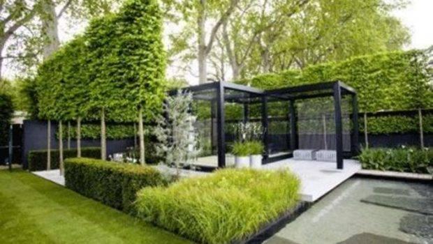 Modern Tuin Ontwerp Moderne Tuinarchitectuur Aanleggen