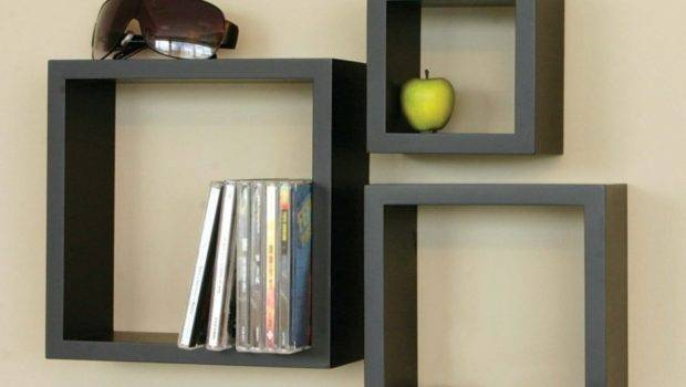 Modern Wall Bookshelves Design Home Designs