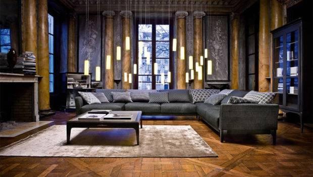 Modern White Leather Sofa Decorating Ideas
