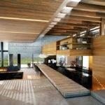 Modern Wood Concrete Interior Design Ideas