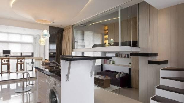 Modest Contemporary Apartment Has Clever Design Maximizes