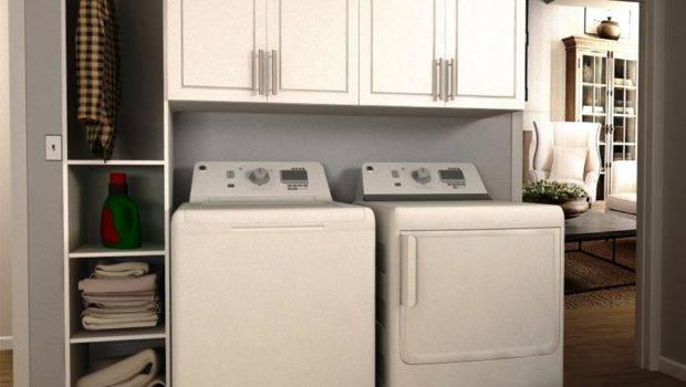 Modifi Madison White Tower Storage Laundry