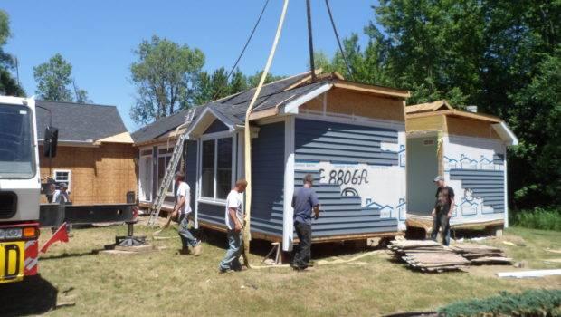 Modular Home Construction Building