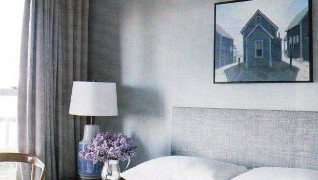 Monochromatic Bedroom Transitional