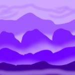 Monochromatic Landscapes Art Jets
