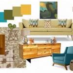 Moody Monday Mid Century Modern Inspired Living Room