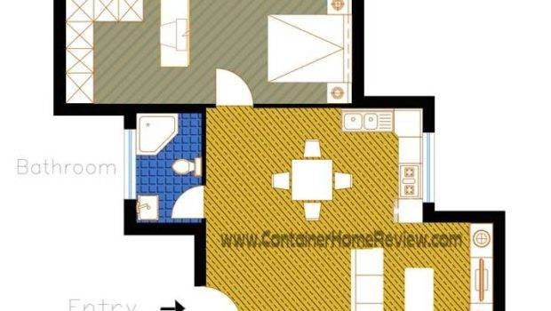 More Shipping Container Home Floor Plans