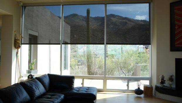 Motorized Interior Screens Tucson Rolling Shutters