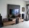 Mounted Minimalist Furniture Small Living Room Design Idea