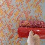 Multicolor Abstract Pattern Step Paint Rollers Decoroll