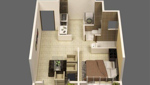 Mumbai One Bedroom Apartment Interior Design Ideas