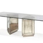 Murano Dining Table Mirror Finish Decor South
