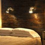Name Diy Headboard Wooden Wall Lamp Designs Pin