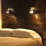 Name Diy Headboard Wooden Wall Lamp Designs Pin
