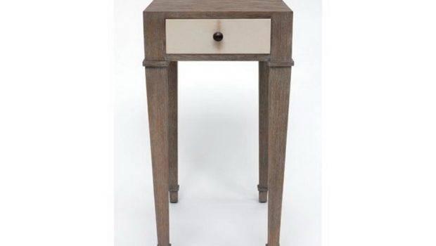 Narrow Bedside Table Home Interior Design