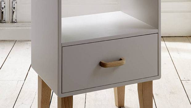 Narrow Bedside Table Saomc