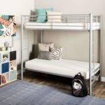 Narrow Bunk Bed Mattress Graphics Frame Center