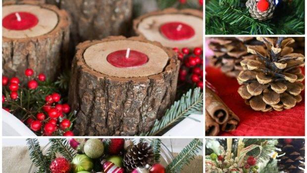 Natural Christmas Decor Ideas Aka