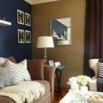 Navy Accent Wall Thinking Doing Bedroom