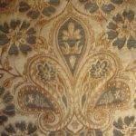 Navy Blue Paisley Jacquard Curtain Fabric Upholstery Material Ebay