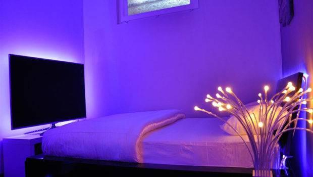 Neon Lights Rooms Home Design