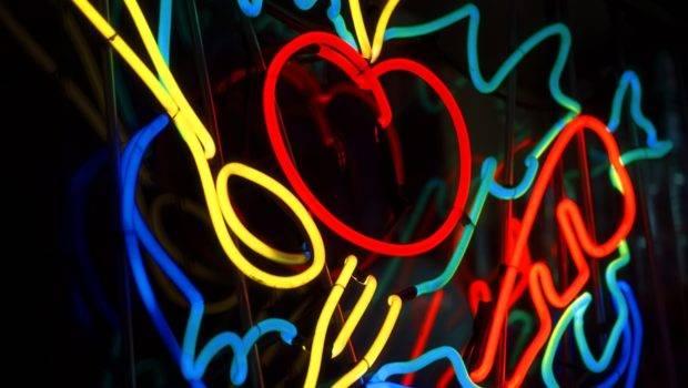 Neon Sign Wall Inkbluesky