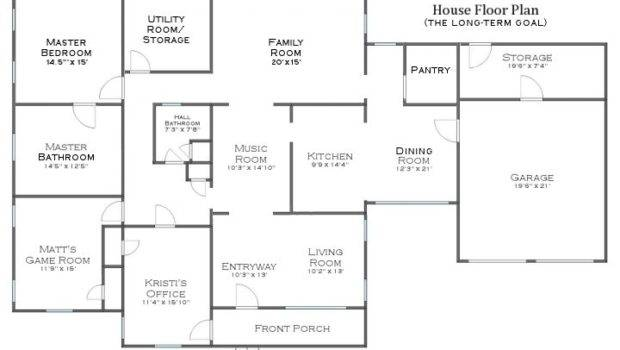 New Finalized Floor Plan Think One Might