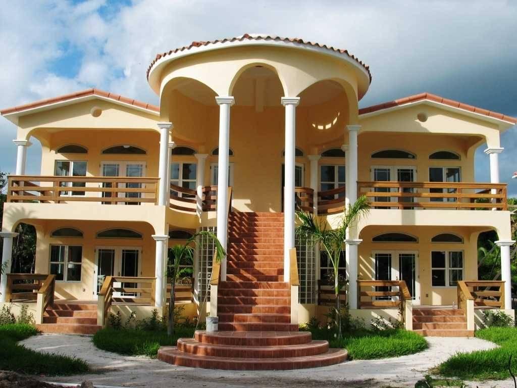 New Home Designs Latest Modern Dream Homes Exterior - Cute ...