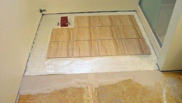 New Laying Ceramic Tile Concrete Basement Floor
