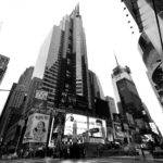 New York City Buildings Photography Black White
