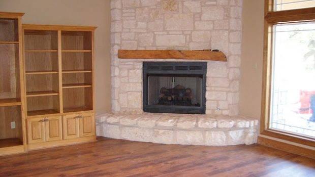 Nice Corner Stone Fireplace Vince Loves Outside