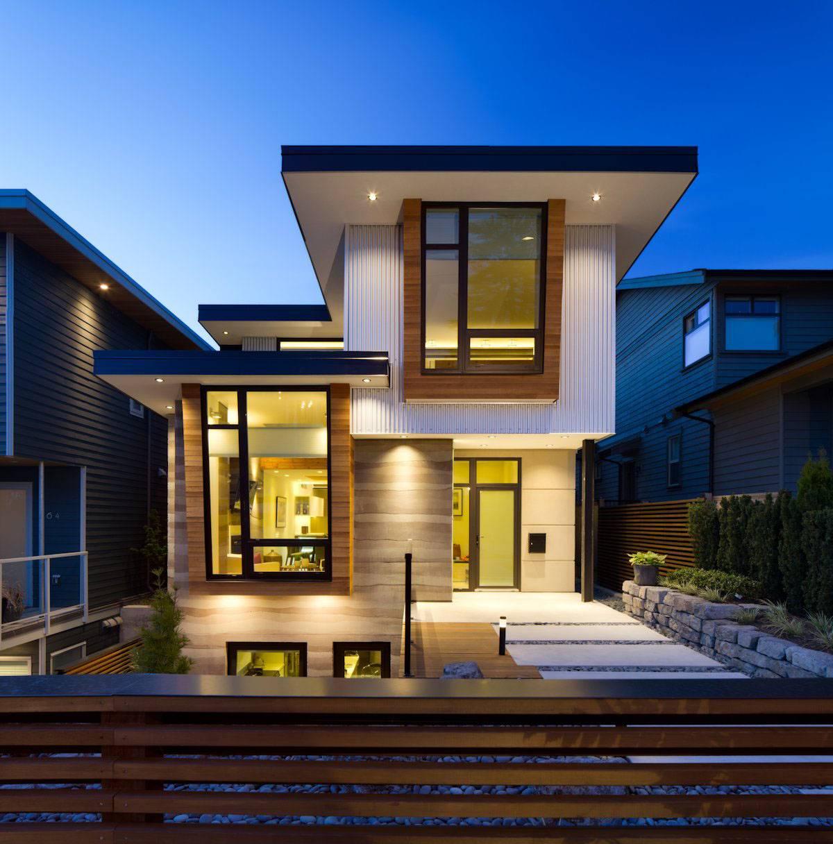 Modernhome Ideas: Nice High End Modern Glass House Exterior Designs Can