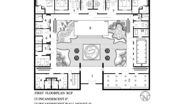 Nice Shaped Floor Plans Courtyard Posted June