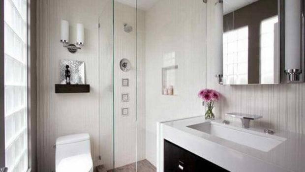 Nice Small Modern Bathrooms Looking