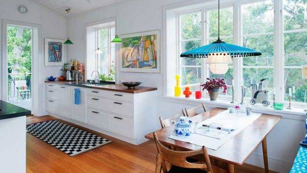 Nordic Bliss Scandinavian Style Swedish Home Kitchen