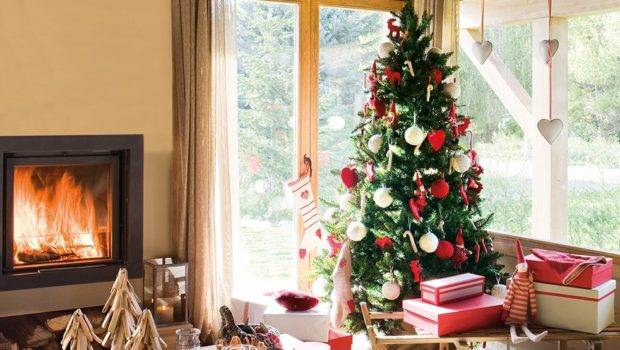 Nordic Style Home Decorated Christmas Spain
