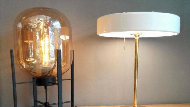North Art Glass Table Lamps Creative Desk Ligh