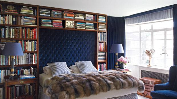 Notting Hill Bookshelves Bedroom Yes