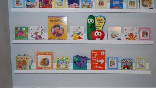 Nursery Room Book Shelves Ledge Plan Yourself Home