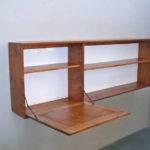 Oak Hanging Wall Shelf Chair Stdibs