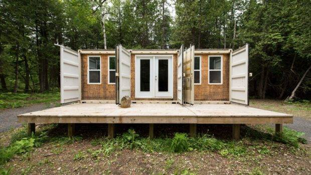 Off Grid Shipping Container Home Built Live