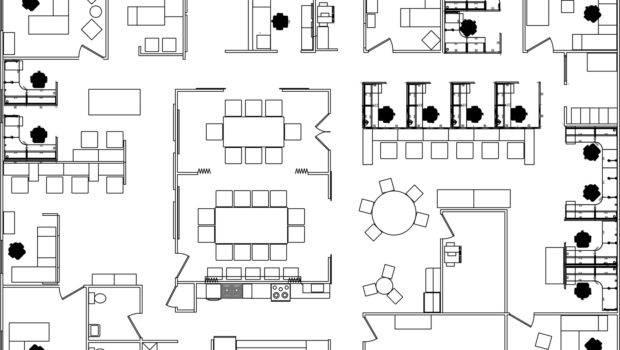 Office Furniture Floor Plan Design