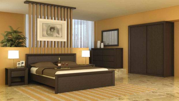 Ofyellow Wall Paint Interior Decoration Modern Home Bedroom