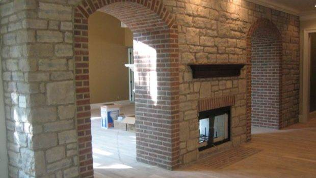 Ohio Stone Brick Great Lakes Arched Doorway