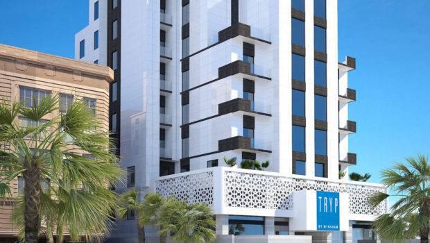 Olaya Hotel Exterior Design Khobar Saudi Arabia Cas