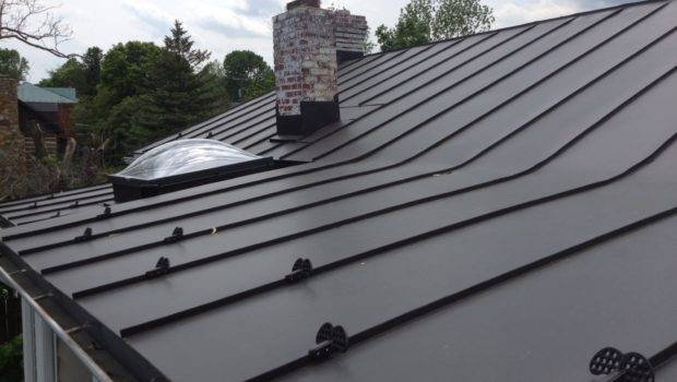 Old Fashioned Standing Seam Valley Roofing